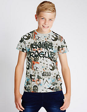 Star Wars™ Pure Cotton T-Shirt (5-14 Years)