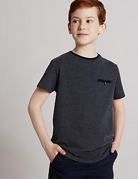 Spotted Short Sleeve Top (3-14 Years)
