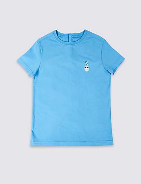 Easy Dressing Pineapple T-Shirt, DARK TURQUOISE, catlanding