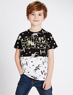 Pure Cotton Star Wars™ T-Shirt (3-14 Years)