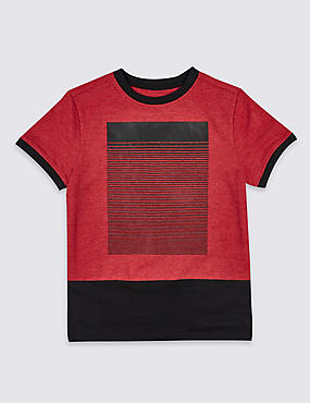 Cotton Rich Short Sleeve T-Shirt (3-14 Years)