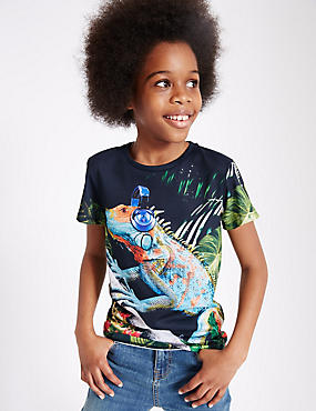 Short Sleeve Printed T-Shirt (3-14 Years)
