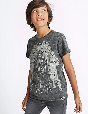 Cotton Blend Star Wars™ Top (3-14 Years)