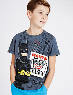 Pure Cotton Batman™ T-Shirt (5-14 Years)