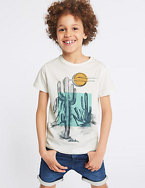 Graphic Cactus T-Shirt (3-16 Years)