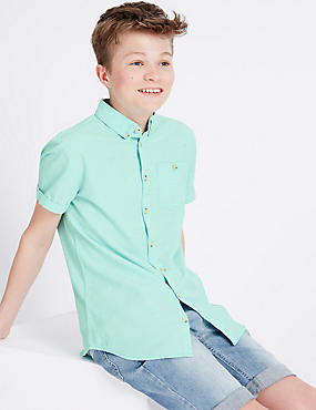 Cotton Rich Shirt (3-14 Years)