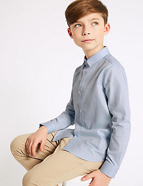 Pure Cotton Packed Shirt (3-16 Years)