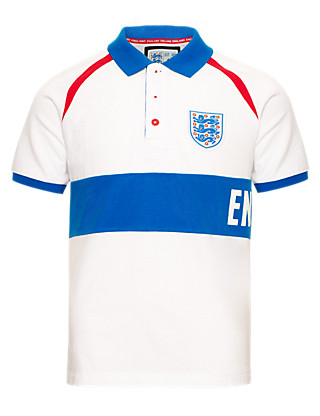 Pure Cotton Umbro 3 Lions Polo Shirt Clothing
