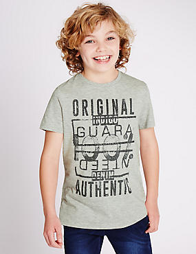 Cotton Rich T-Shirt (3-14 Years)