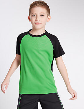 Textured Sport T-Shirt (5-14 Years)