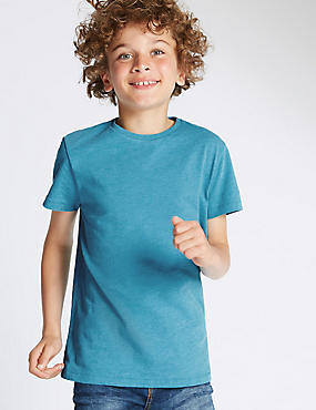 Short Sleeve Round Neck Top (5-14 Years)