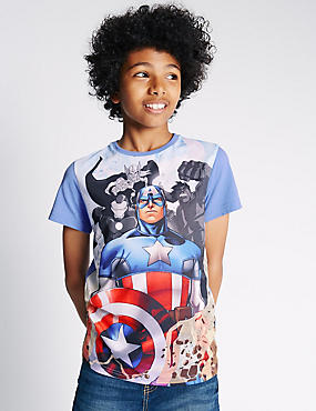Captain America Avengers™ T-Shirt (5-16 Years)