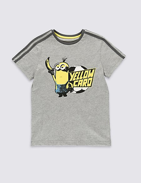 Pure Cotton Despicable Me™ Minion T-Shirt (5-14 Years)