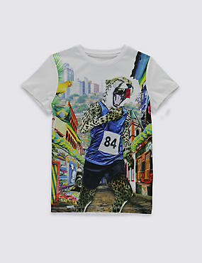 Runner T-Shirt (5-14 Years)