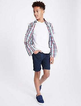 Cotton Rich Shorts (3-14 Years)