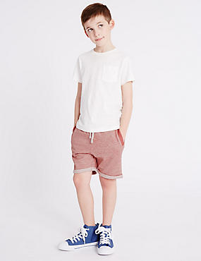 Pure Cotton Shorts (3-14 Years)