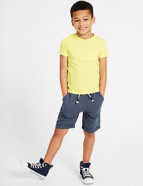 Denim Shorts (3-16 Years), MULTI, catlanding