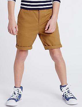 2 Pack Casual Shorts (3-14 Years)