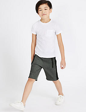 Side Panel Shorts (5-14 Years)