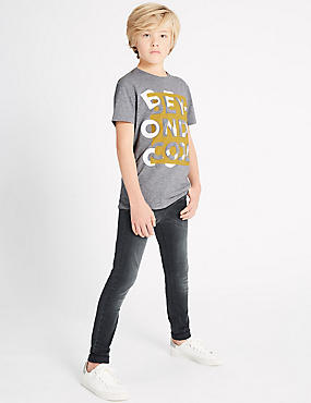 Cotton Rich Skinny Jeans with Stretch (3-14 Years)