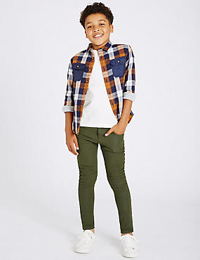 Cotton Rich Skinny Jogger Jeans (3-14 Years)
