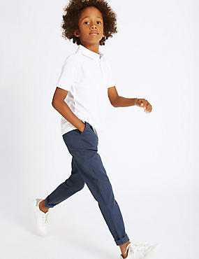 Cotton Chinos with Stretch (3-14 Years)