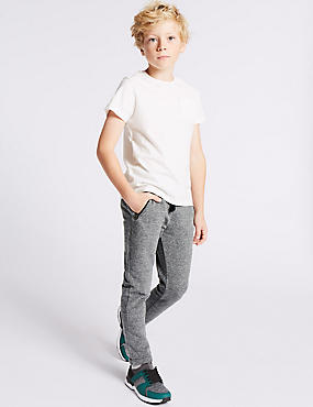 Cotton Blend Joggers (3-14 Years)