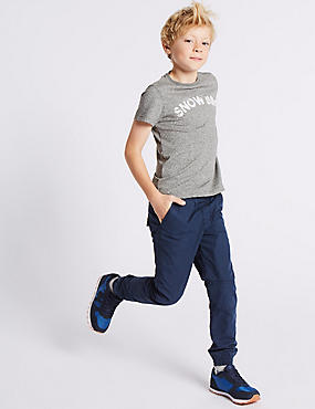 Pure Cotton Joggers (3-14 Years)