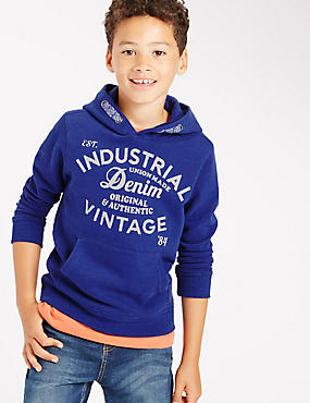 Overhead Long Sleeve Sweatshirt (5-14 Years)