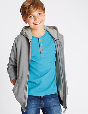 Cotton Rich Hooded Sweatshirt (5-14 Years)