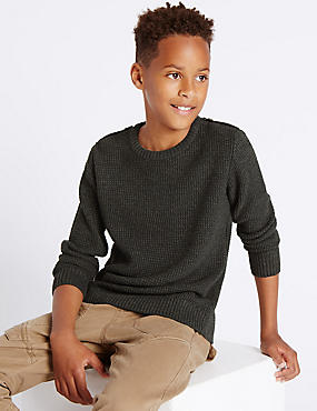 Textured Jumper (5-14 Years)