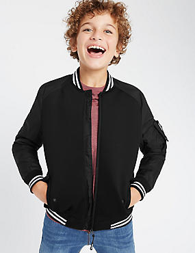 Long Sleeve Bomber Jacket (5-14 Years)