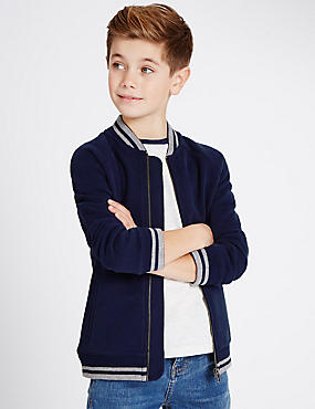 Contrast Sweatshirt (3-14 Years)