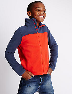 Polar Fleece Zip Through Jumper (5-14 Years)
