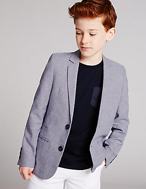 Pure Cotton Blazer (3-14 Years)