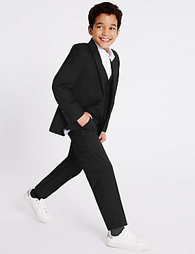 2 Button Notch Lapel Blazer (3-14 Years)