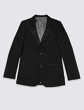 2 Button Tuxedo Blazer (3-14 Years)