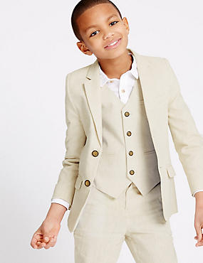 Cotton Blend Blazer (3-14 Years)