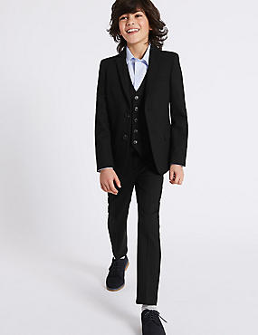 2 Button Notch Lapel Blazer (3-16 Years)