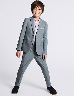 Pure Cotton Blazer (3-16 Years)