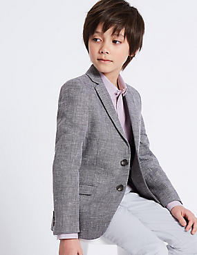 Cotton Rich Fashion Blazer (3-16 Years)