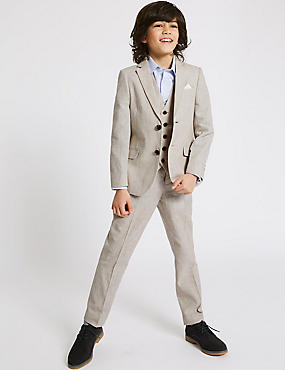 Cotton Blend Blazer (3-16 Years)
