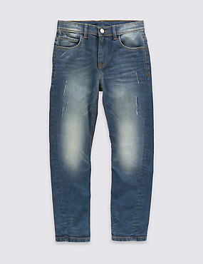 Cotton Rich Jeans (5-14 Years)