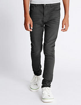Cotton Rich Slim Fit Jeans (3-14 Years)