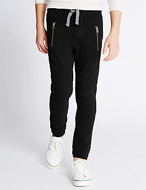 Pure Cotton Joggers (5-14 Years)