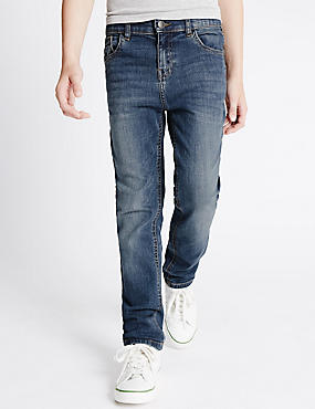 Cotton with Stretch Denim Jeans (3-14 Years)
