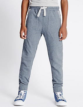 Cotton Blend Fashion Joggers (5-14 Years)