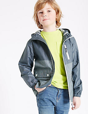 Pure Cotton Anorak Jacket (3-14 Years)