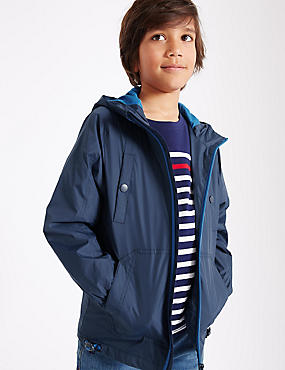 Hooded Anorak Jacket (3-14 Years)