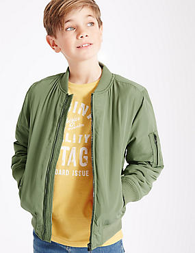 3 Pocket Bomber Jacket (3-14 Years)